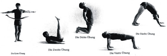 Yoga 5 Tibeter Anleitung